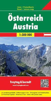Austria West: FB.O710W (Sheet map, folded)