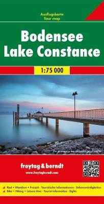 Lake Constance 2016 (Sheet map, folded)