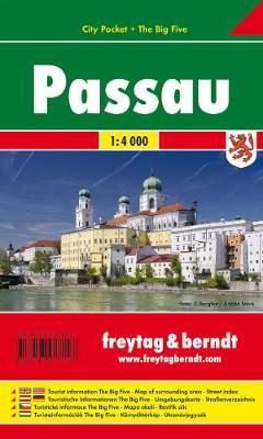 Passau 2017 (Sheet map, folded)