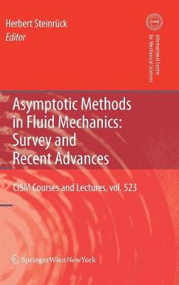 Asymptotic Methods in Fluid Mechanics: Survey and Recent Advances - CISM International Centre for Mechanical Sciences 523 (Hardback)