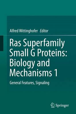 Ras Superfamily Small g Proteins: Biology and Mechanisms 1: Ras Superfamily Small G Proteins: Biology and Mechanisms 1 Volume 1 (Hardback)