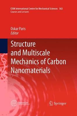 Structure and Multiscale Mechanics of Carbon Nanomaterials - CISM International Centre for Mechanical Sciences 563 (Paperback)