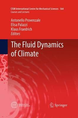 The Fluid Dynamics of Climate - CISM International Centre for Mechanical Sciences 564 (Paperback)