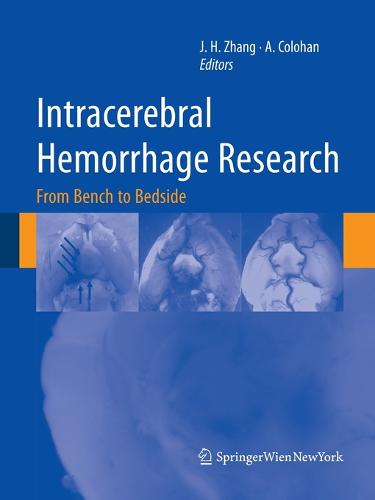 Intracerebral Hemorrhage Research: From Bench to Bedside - Acta Neurochirurgica Supplement 111 (Paperback)