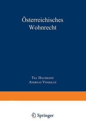 sterreichisches Wohnrecht: Kommentar Mrg Und Weg (Paperback)