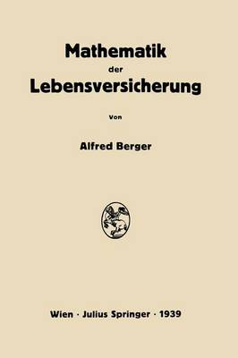 Mathematik Der Lebensversicherung (Paperback)