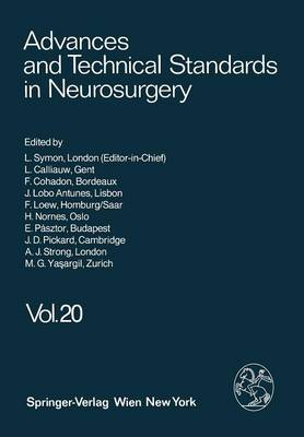 Advances and Technical Standards in Neurosurgery - Advances and Technical Standards in Neurosurgery 20 (Paperback)