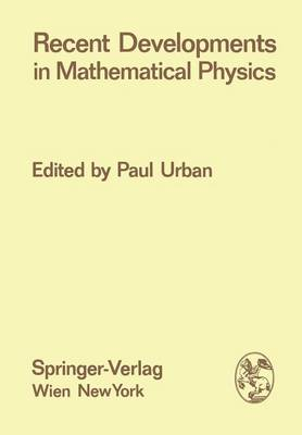 Recent Developments in Mathematical Physics - Few-Body Systems 11/1973 (Paperback)