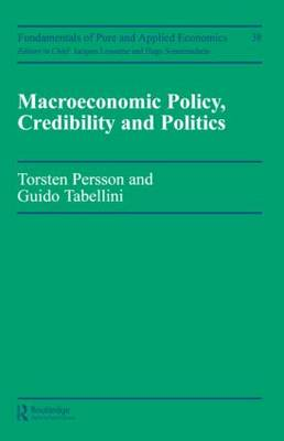 Macroeconomic Policy - Fundamentals of Pure & Applied Economics Series Vol. 38 (Paperback)