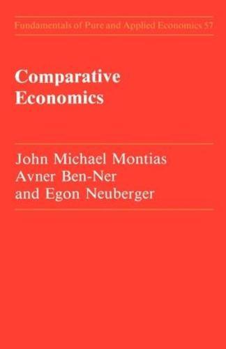 Comparative Economics (Paperback)