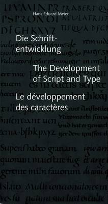 The Development of Script and Type (Paperback)