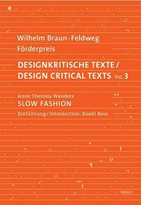 Slow Fashion: Alternative Fashion Concepts (Paperback)