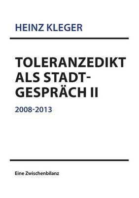 Toleranzedikt ALS Stadtgesprach II (Paperback)
