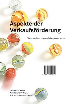 Aspekte Der Verkaufsforderung (Paperback)