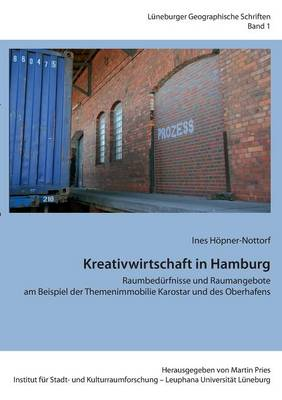 Kreativwirtschaft in Hamburg (Paperback)
