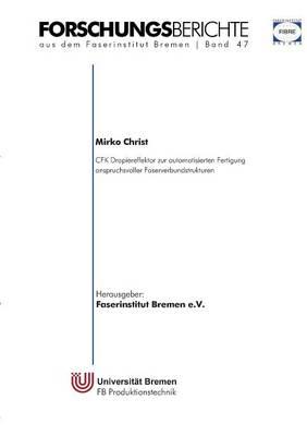 Cfk Drapiereffektor Zur Automatisierten Fertigung Anspruchsvoller Faserverbundstrukturen (Paperback)