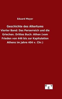 Geschichte Des Altertums (Hardback)