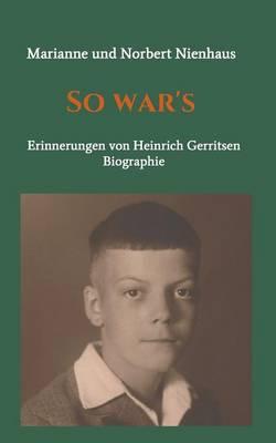 So War's (Paperback)