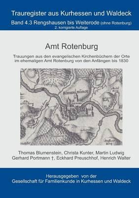 Amt Rotenburg (Paperback)