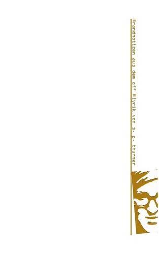 #Randnotizen Aus Dem Off (Paperback)