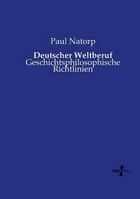 Deutscher Weltberuf (Paperback)