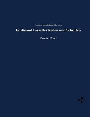 Ferdinand Lassalles Reden Und Schriften (Paperback)