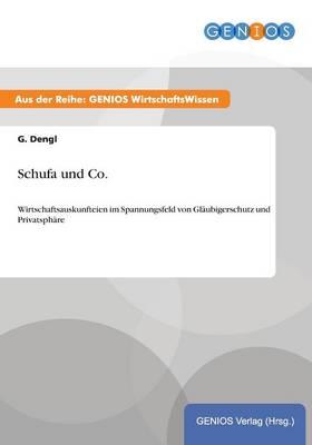 Schufa und Co.: Wirtschaftsauskunfteien im Spannungsfeld von Glaubigerschutz und Privatsphare (Paperback)