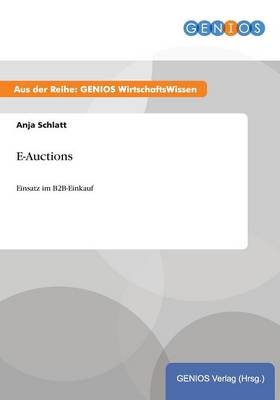 E-Auctions (Paperback)