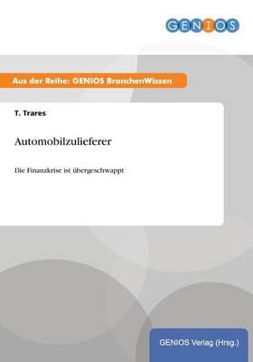 Automobilzulieferer: Kostendruck und Konsolidierung pragen das Bild! (Paperback)