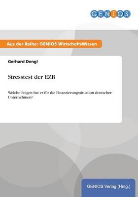 Stresstest der EZB (Paperback)