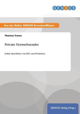Private Fernsehsender (Paperback)