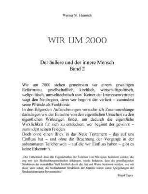 Wir Um 2000 - Band 2 (Paperback)