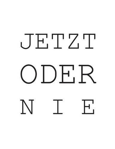 Jetzt Oder Nie (Paperback)