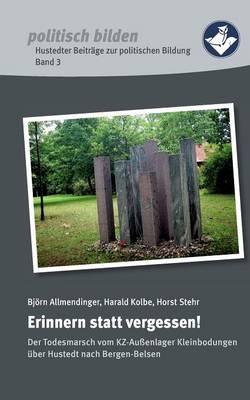 Erinnern Statt Vergessen! (Paperback)