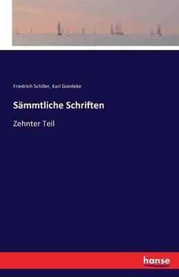Sammtliche Schriften (Paperback)