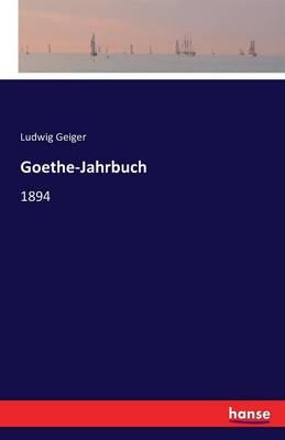 Goethe-Jahrbuch (Paperback)