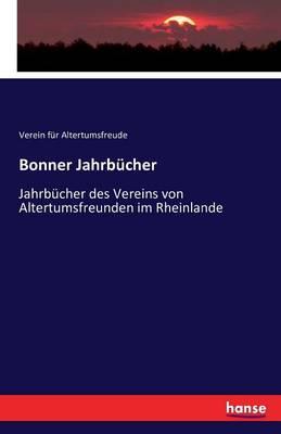 Bonner Jahrb cher (Paperback)