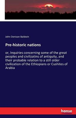 Pre-Historic Nations (Paperback)