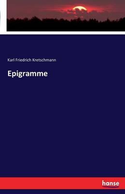 Epigramme (Paperback)