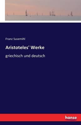 Aristoteles' Werke (Paperback)