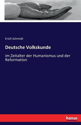 Deutsche Volkskunde (Paperback)