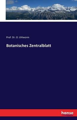 Botanisches Zentralblatt (Paperback)