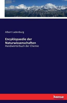 Encyklopaedie Der Naturwissenschaften (Paperback)