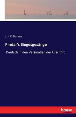 Pindar's Siegesgesange (Paperback)