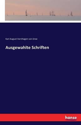 Ausgewahlte Schriften (Paperback)
