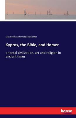 Kypros, the Bible, and Homer (Paperback)