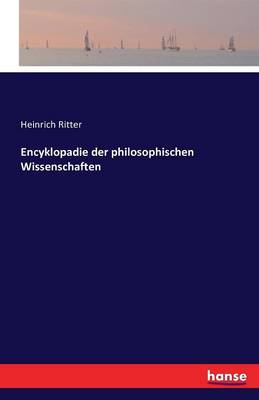 Encyklopadie Der Philosophischen Wissenschaften (Paperback)