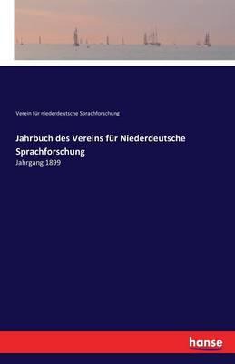 Jahrbuch Des Vereins Fur Niederdeutsche Sprachforschung (Paperback)