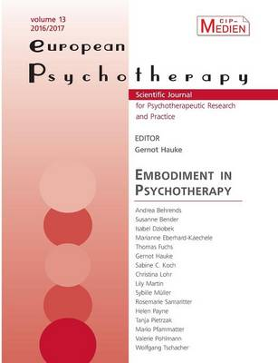 European Psychotherapy 2016/2017 (Paperback)