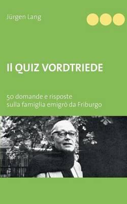 Il Quiz Vordtriede (Paperback)